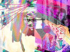 Glitch Art Just glitchin' Around! #GlitchBitch #GlitchArt #OopsIArted #Glitch