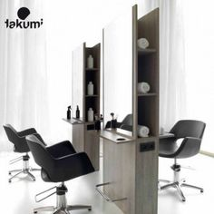 Pack Mobilier Salon coiffure kento 4 postes