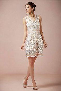 BHLDN Anthropologie Jola Wedding Reception Dress Yoana Baraschi Size 2 | eBay