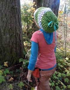 80baa7be7b5c Scoodie Cheshire Cat Scoodie Patchwork Scoodie Hippie by GypsySewL. Carol  Scarlett · Finger knitting · 3 in One crochet hat HIPPY DREAD HEAD Hat
