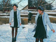 Get this look: http://lb.nu/look/7991104  More looks by ♡Anita Kurkach♡: http://lb.nu/anitakurkach  Items in this look:  Sheinside Dress, Sheinside Coat, Chic Wish Bag   #elegant #romantic #street