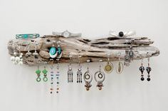 Driftwood Jewelry Hanger, Wall Art