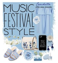 """""""This is MY style / Coachella"""" by covergirlchic ❤ liked on Polyvore featuring Forever 21, French Connection, Casetify, Monsoon, Full Tilt, Collectif and Oscar de la Renta"""