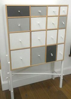 ikea hack painted drawers