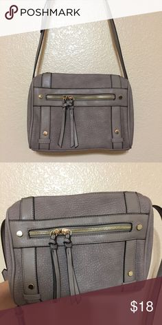 Tillys cross body purse Grayish purple color in person, never used Tilly's Bags Crossbody Bags