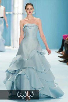 Carolina Herrera, New York Fashion Week, Herbst- / Wintermode Carolina Herrera 2015 Ny Fashion Week, New York Fashion, Fashion Show, Fashion Fashion, Fashion Weeks, Trendy Fashion, London Fashion, Lace Dresses, Elegant Dresses