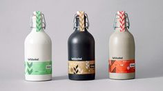 Dynamic identity for bakery and brewery by Adobe Design Achievement Awards ADAA Cool Packaging, Beverage Packaging, Bottle Packaging, Brand Packaging, Packaging Design, Corporate Design, Corporate Identity, Beer Label Design, Graphic Design Pattern