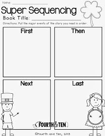 Fourth and Ten: St. Patrick's Day Graphic Organizers: Try Them Before You Buy Them
