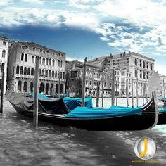 Venecia azul.- #colorsplash · http://comcyl.com/venecia-azul-colorsplash/