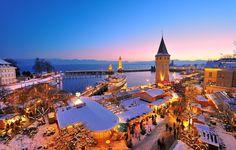 Weihnachtsmarkt in Lindau: Lichterzauber und Sternenglanz auf der Weihnachtsinsel
