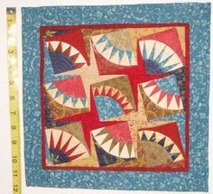 This Quilting Mama: Petite New York Beauty  Would be good for a quilt label