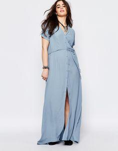 Image 4 ofAlice & You Button Through Maxi Tea Dress
