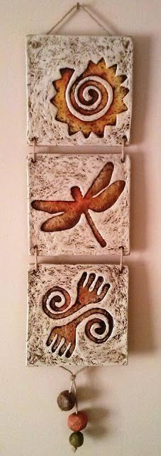 Ideas Creativas y Practicas: Pasta Piedra /Papel Mache (Tutorial) - Hobbies paining body for kids and adult Paper Mache Crafts For Kids, Clay Crafts, Diy And Crafts, Arts And Crafts, Ceramic Wall Art, Ceramic Clay, Paper Clay, Clay Art, Deco Originale