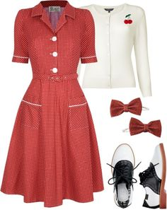 """""""day in the park"""" by elsa-morales on Polyvore  what a dress :)"""