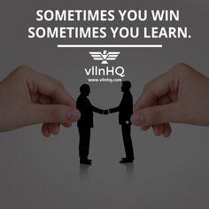 Sometimes you win sometimes you learn. #win #learn #lifestyle #luxurylife #vllnhq