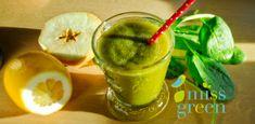 Turmix/Ital - MissGreen Diabetic Recipes, Diet Recipes, Miss Green, Milkshake, Healthy Drinks, Healthy Life, Fudge, Smoothies, Herbalism