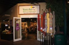 Yard Art Grapevine is conveniently located in Stacy Furniture.  With 3 showrooms, you are sure to find the ideal patio furniture.