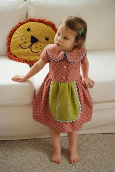 INSTANT DOWNLOAD Playdate Dress PDF Sewing Pattern by OwlyBaby