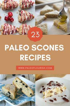 These low carb scones are sure to satisfy even the pickiest of taste buds. From sweet pumpkin scones with cinnamon glaze to mango butter scones, there are scone recipes for every season. Paleo Dessert, Gluten Free Desserts, Healthy Desserts, Paleo Sweets, Flour Recipes, Scone Recipes, Paleo Recipes, Cinnamon Scones, Pumpkin Scones