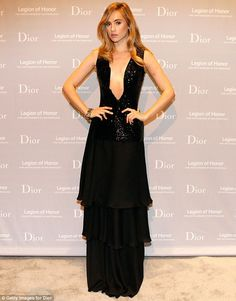 Suki Waterhouse seems to be getting over her broken heart pretty well when she stepped out at the Dior 2015 Mid-Winter Gala on Friday night