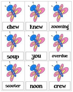 by Phun Phonics PreK - Grade Includes words with the vowel digraphs: -oo as in book, shook, overlooked This game is played. First Grade Words, First Grade Phonics, First Grade Lessons, Second Grade, Fun Classroom Activities, Word Work Activities, Spelling Activities, Reading Activities, Whistle For Willie
