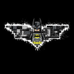 """The Lego Knight"" by hyperstatica is $10 today at ShirtPunch.com (07/31). #tshirt #TheLegoMovie #Lego #Batman #DarkKnight #BruceWayne Lego Batman Birthday, Lego Batman Party, Lego Batman Movie, Batman Comics, Batman Stuff, Dc Comics, Lego Batman Wallpaper, Lego Batman Invitations, Batman Pictures"