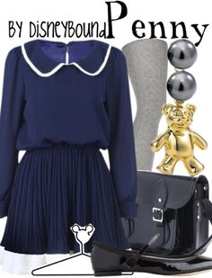 Penny (from Oliver and Co.): Disney inspired outfits!
