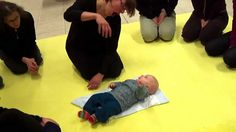 """Chiacchiere in Musica (Music Chatter). What a lovely video! Watch this 4 month old respond to being sung to: he gurgles, laughs, smiles and joins in with his own """"singing"""". THIS is the beginning of all music. Singing with infants is the most important thing you can do to develop any child's love of music. Whether you are a parent or caregiver: sing, sing, sing! It doesn't matter if you don't sing well, it matters only that you sing! Pinned by Alec Duncan of http://childsplaymusic.com.au/"""