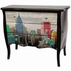 Art Furniture Decor - Wide selection of Room Dividers, Shoji Screens, Oriental and Asian Home Furnishings, Chinese Lamps and accessories at warehouse prices. Art Furniture, Decoupage Furniture, Oriental Furniture, Decoupage Art, Hand Painted Furniture, Funky Furniture, Refurbished Furniture, Repurposed Furniture, Furniture Projects
