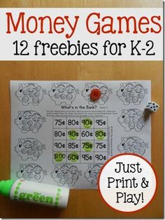 Free money counting printable worksheets - Kindergarten, 1st grade ...