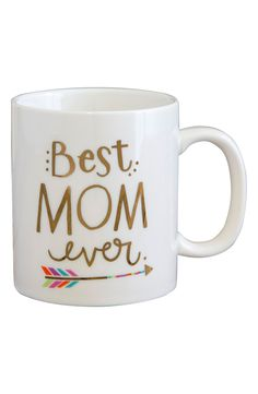 Mother's Day Gift >> 'Best Mom Ever' Mug