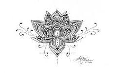 Risultati immagini per lotus mandala underboob tattoo