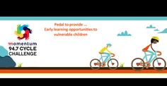 Pedal to provide early learning opportunities to vulnerable children and raise support and awareness for Cotlands.