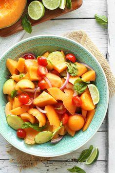 Juisy | Cantaloupe Summer Salad
