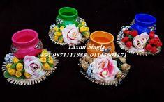 Diwali Diya, Diwali Craft, Gift For Raksha Bandhan, Diya Designs, Diwali Lights, Diy Diwali Decorations, T Lights, Tea Light Holder, Wedding Designs