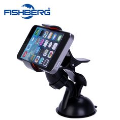 New Car Windshield Mount Stand Holder For Cell Phone GPS iPhone6 6plus 5 5S Car Mount Cradle Holder Universal Phone Holder