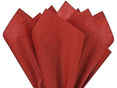 5 X Scarlet Red Tissue Paper 15 Inch X 20 Inch – 100 Sheet Pack Review
