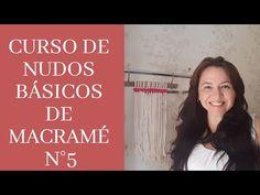 Curso de Nudos Básicos De MACRAMÉ N°5 - YouTube Macrame Knots, Micro Macrame, Macrame Projects, Macrame Tutorial, Diy Crafts To Do, Collections, Jewelery, Beautiful Pictures, Beads