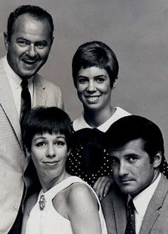 Tonight 9-11 in 1967, The Carol Burnett Show debuted, starting off it's successful 11 year run on CBS.
