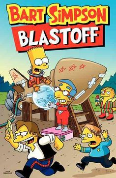 The Simpsons creator Matt Groenings latest Bart Simpson full-color comics collection. Countdown to laughter. . . . Bart Simpson will send you over the moon with high-octane hilarity as he leads the Sp