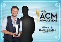 Who's going to host the ACMs with Blake Shelton this year? Nashville News, Blake Shelton, Movies, Movie Posters, Films, Film Poster, Cinema, Movie, Film