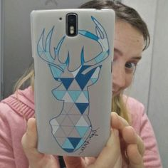 Look what I've got today!!! #mydesign in a #phonecover If you want something like this let me know. I have the same art available on my Redbubble store. Link in my bio.