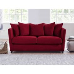 Esme Upholstered Sofa   Living It Up