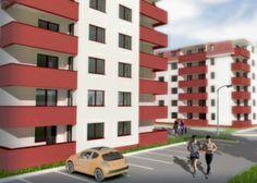 Metropolitan Residence Berceni IV in Bucuresti Minecraft, Multi Story Building