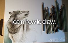 I want to draw cattle and pets....would be so cool. Oh and horses!