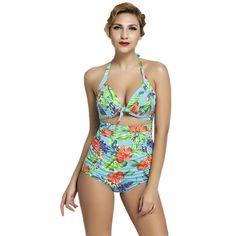 $19.99 (Buy here: https://alitems.com/g/1e8d114494ebda23ff8b16525dc3e8/?i=5&ulp=https%3A%2F%2Fwww.aliexpress.com%2Fitem%2FCfanny-2016-New-Women-Plus-Size-Swimwear-Floral-Print-Bluish-Retro-High-Waist-Swimsuit-Triangle-Bikini%2F32701319526.html ) Cfanny 2016 New Women Plus Size Swimwear Floral Print Bluish Retro High Waist Swimsuit Triangle Bikini Push Up Sexy Bathing Suit for just $19.99