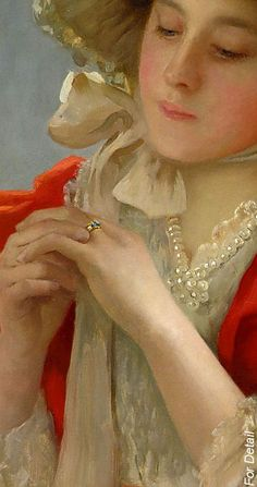 John Shirley Fox:The Engagement Ring Woman Painting, Rococo Painting, Portraits, Paintings I Love, Beautiful Paintings, Detail Art, New Artists, Oeuvre D'art, Old Master