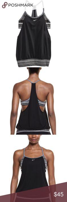 32a8e3675f NWT Women s Nike Filtered Sport 2-In-1 Tankini Top NWT