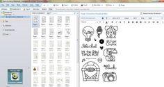 Using Evernote for stamp set inventory via KathleenDriggers.com