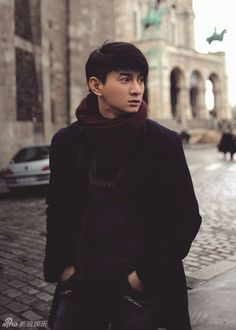 Nicky Wu fashion shoot in Paris